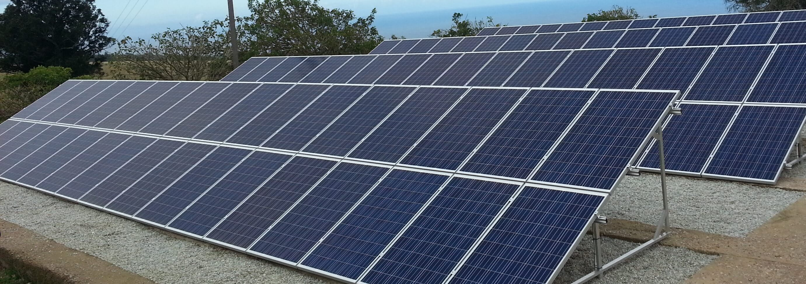 Frame mounted commercial Solar Systems in Cape Town