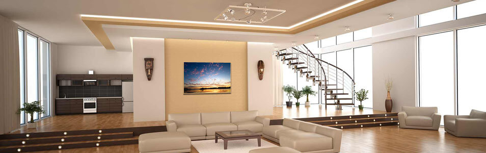 Designer lounge with Infrared Heaters