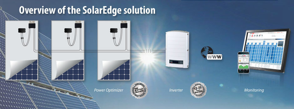 SolarEdge schematic optimisation