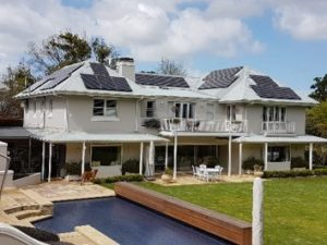 15.8kWp BenQ 330Wp 60kWh Freedom Won Lithium Battery Solar Power in Constantia