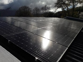 Solar Battery System in Constantia with IBC mono 280Wp and BAE Battery 52kWh