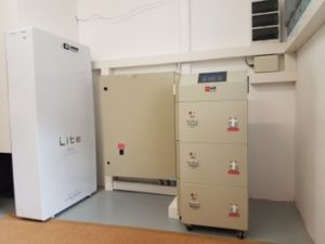 60kWh Lithium Battery and 3-phase inverter for a Solar System in Constantia