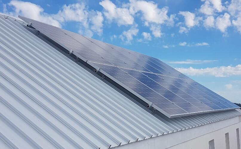 Solar panels in Franschhoek