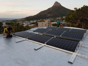 4.76kWp Solar System in Camps Bay