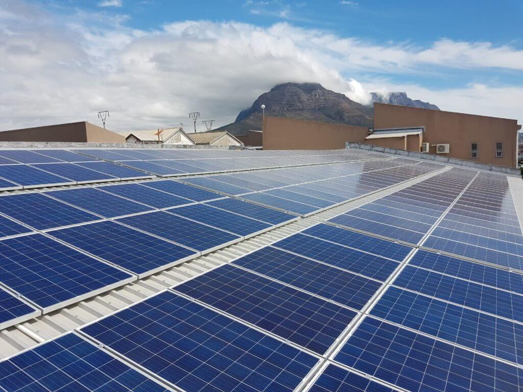 Commercial Solar System in Maitland, Cape Town